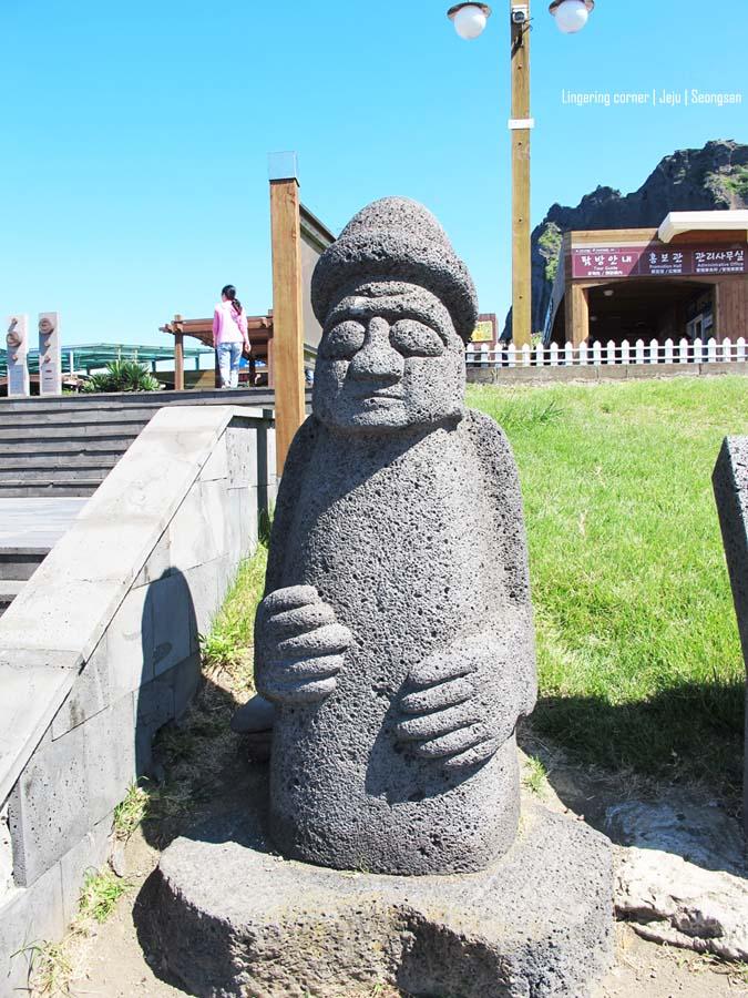 Dolhareubang at Seongsan