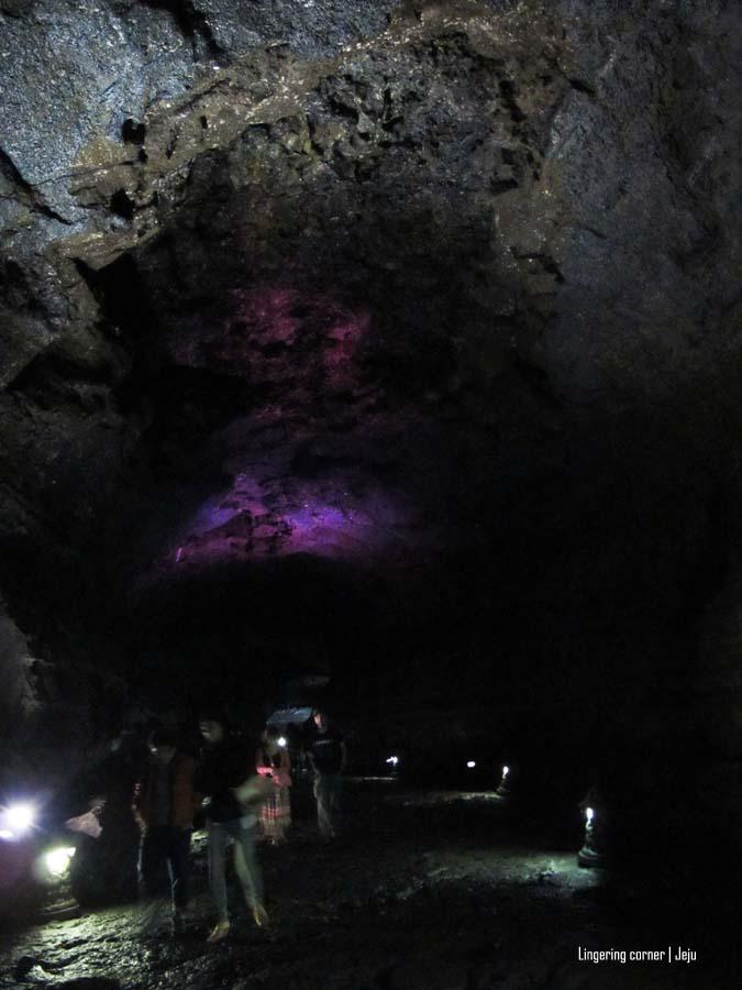 the massive lava tube