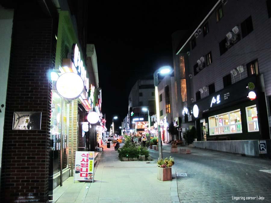 Seogwipo at night